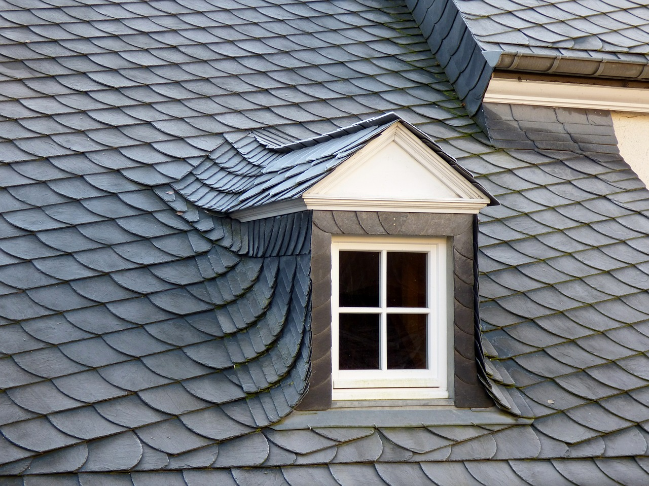 Dormer Covered in Slate