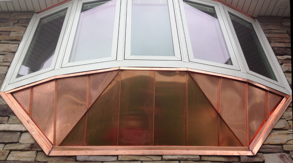 Copper Aging Rk Seamless Gutters